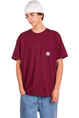 Element Miehet T-paidat - Basic Pocket Label T-Shirt