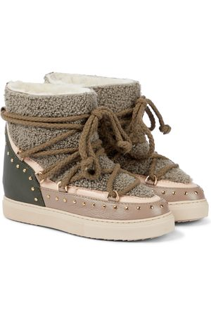 INUIKII Naiset Nilkkurit - Shearling and leather boots