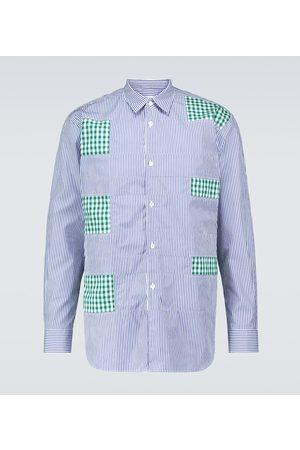 Comme des Garçons Striped long-sleeve shirt