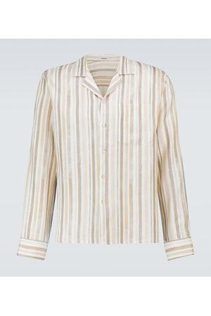 COMMAS Striped linen shirt