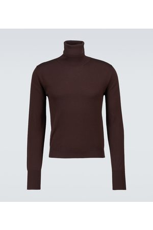 AMIRI Miehet Poolopaidat - Cashmere and silk turtleneck sweater