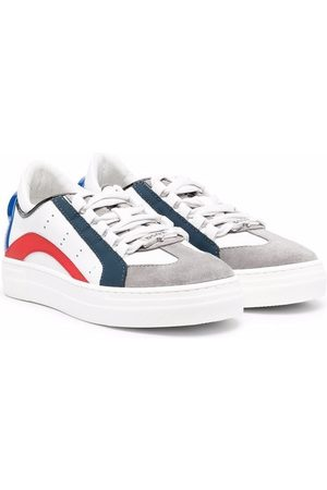 Dsquared2 Tennarit - Logo-print lace-up sneakers
