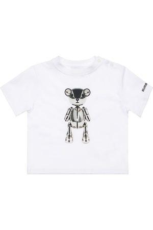 Burberry Pojat T-paidat - Bear Print Cotton Jersey T-shirt