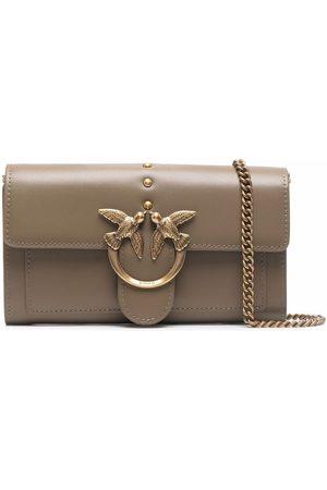 Pinko Naiset Olkalaukut - Logo-plaque crossbody bag
