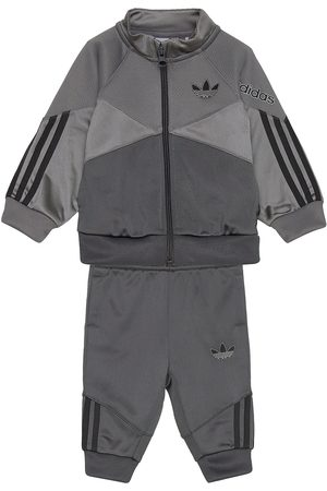 adidas Sprt Track Suit Verryttelypuku Harmaa