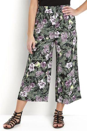 Cellbes Naiset Culottes - Kuvioidut culottehousut