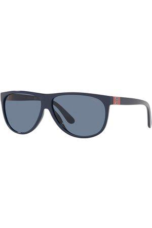 Ralph Lauren 1263 Polo Player Sunglasses Blue