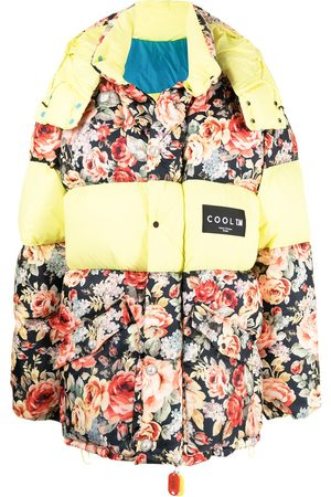 COOL T.M Floral print puffer jacket