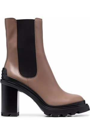 Tod's Block-heel Chelsea ankle boots