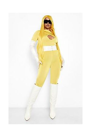 Boohoo Halloween Cut Out Detail Catsuit