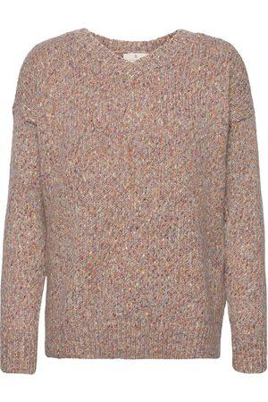 Brandtex B. Copenhagen Pullover-Knit Heavy Neulepaita Ruskea