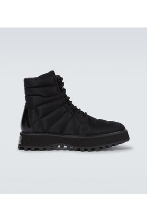 Dolce & Gabbana Quilted combat boots