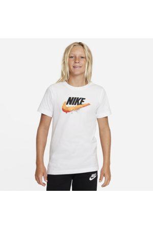 Nike Sportswear Older Kids' T-Shirt - White