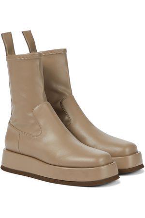 Gia Borghini Exclusive to Mytheresa – GIA/RHW Rosie 11 flatform ankle boots