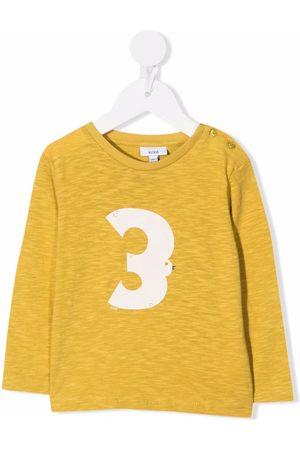 KNOT T-paidat - High-Flying-Bird organic cotton long-sleeve T-shirt