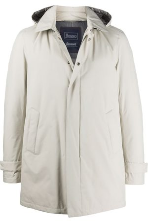 HERNO Padded zip-front hooded jacket