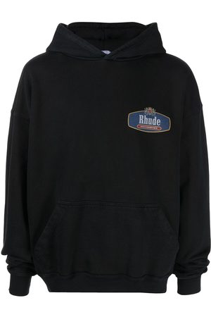 Rhude Logo-print pullover hoodie