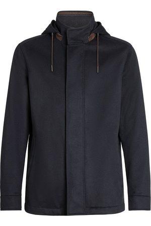 Ermenegildo Zegna Miehet Päällystakit - Elements hooded jacket