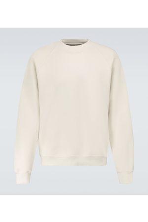 Les Tien Classic cotton raglan sweatshirt