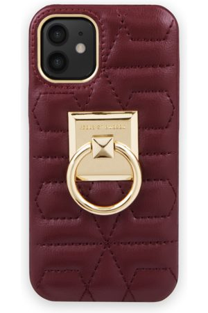 IDEAL OF SWEDEN Naiset Puhelinkuoret - Statement Case iPhone 12 Mini Quilted Ruby