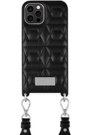 IDEAL OF SWEDEN Naiset Puhelinkuoret - Statement Necklace iPhone 12 Pro Max Quilted Black