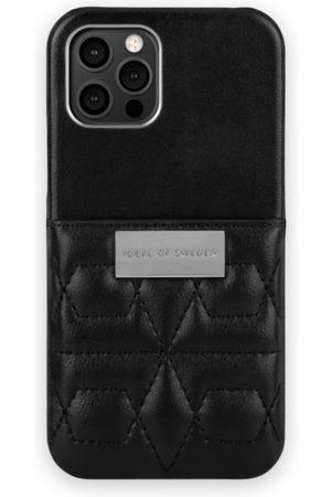 IDEAL OF SWEDEN Naiset Puhelinkuoret - Statement Case iPhone 12 Pro Quilted Black - Mini Pocket
