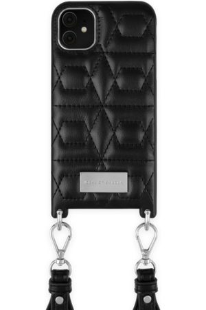 IDEAL OF SWEDEN Statement Necklace iPhone 11 Quilted Black