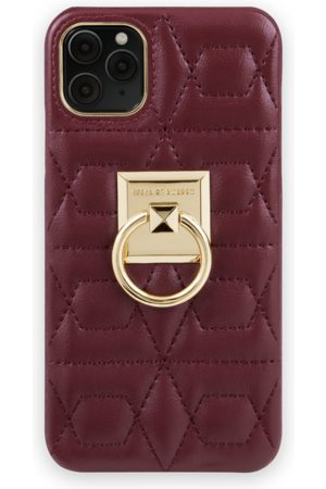 IDEAL OF SWEDEN Naiset Puhelinkuoret - Statement Case iPhone 11 Pro Max Quilted Ruby