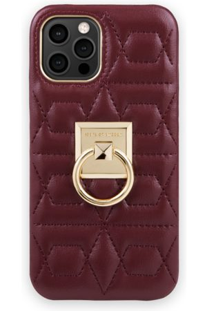IDEAL OF SWEDEN Naiset Puhelinkuoret - Statement Case iPhone 12 Pro Max Quilted Ruby