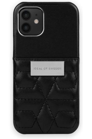 IDEAL OF SWEDEN Naiset Puhelinkuoret - Statement Case iPhone 12 Mini Quilted Black - Mini Pocket