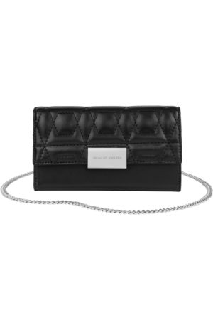 IDEAL OF SWEDEN Statement Clutch iPhone 11 Pro Max Quilted Black