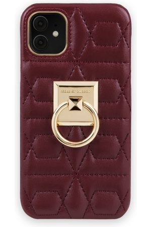 IDEAL OF SWEDEN Naiset Puhelinkuoret - Statement Case iPhone 11 Quilted Ruby