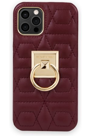 IDEAL OF SWEDEN Naiset Puhelinkuoret - Statement Case iPhone 12 Pro Quilted Ruby