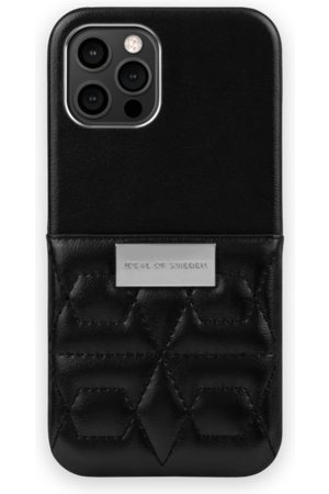 IDEAL OF SWEDEN Naiset Puhelinkuoret - Statement Case iPhone 12 Pro Max Quilted Black - Mini Pocket