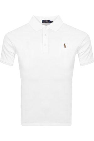 Ralph Lauren Miehet Pikee - Slim Fit Polo T Shirt White