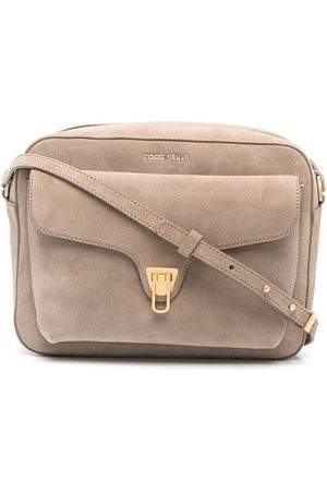 Coccinelle Beat suede crossbody bag