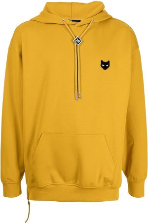 ZZERO BY SONGZIO Panther patch hoodie