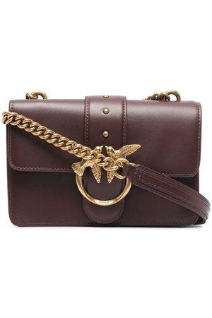 Pinko Naiset Olkalaukut - Fold-over leather shoulder bag