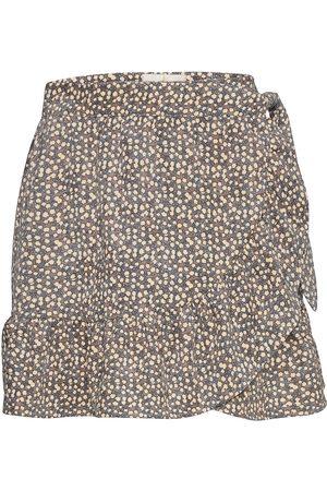 MAUD Savanna Skirt Skirts Wrap Skirts Harmaa