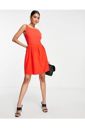 French Connection Naiset Juhlamekot - Mini shift dress in red