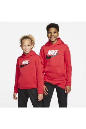 Nike Pojat Hupparit - Sportswear Club Fleece Older Kids' Pullover Hoodie - Red