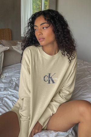 Calvin Klein for NA-KD Naiset Neulepaidat - Oversized fine gauge -neulepusero
