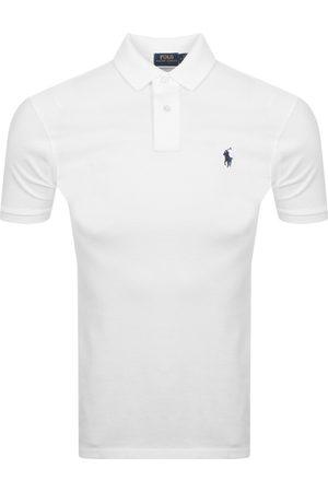 Ralph Lauren Slim Fit Polo T Shirt White