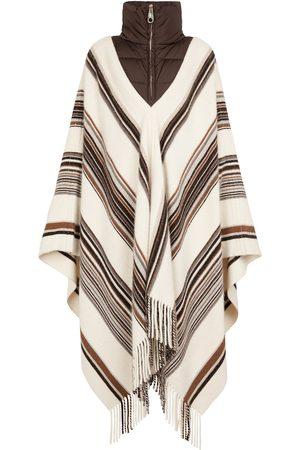 Chloé Striped cashmere and silk poncho