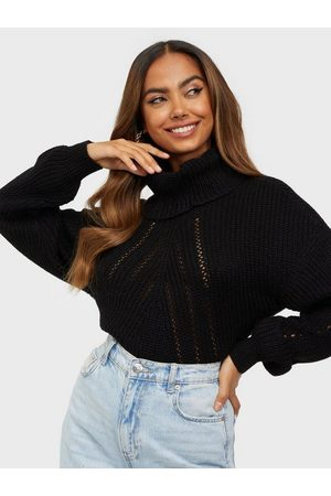 JACQUELINE DE YONG Naiset Poolopaidat - Jdycory Justy L/S Rollneck Pullover