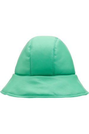Nanushka Cameron Faux Leather Bucket Hat