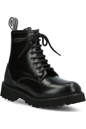 Karl Lagerfeld Naiset Nilkkurit - Troupe Ikonl Shoes Boots Ankle Boots Ankle Boot - Flat Musta