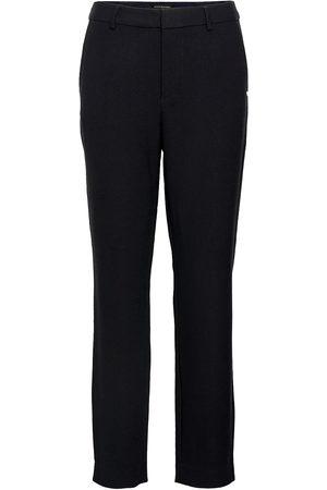 Scotch&Soda Naiset Kapeat - Lowry Tailored Slim Fit Pants Slimfit Housut Pillihousut Musta