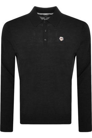 Ted Baker Miehet Pitkähihaiset - Wembley Long Sleeved Polo T Shirt Black