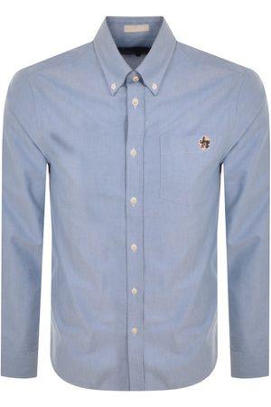 Ted Baker Caplet Long Sleeved Shirt Blue